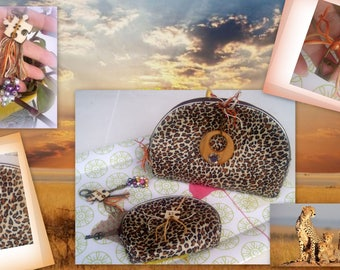 Coin purse, POUCH, makeup and key set