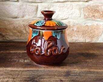 """Tobacco jar """"Vallauris"""""""