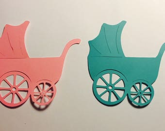 25 Baby Decorations (Can be made in many different colors)