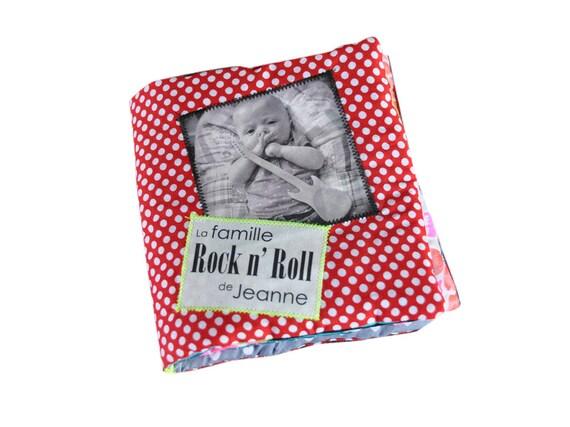 mon livre doudou c 39 est un livre en tissu avec vos photos. Black Bedroom Furniture Sets. Home Design Ideas