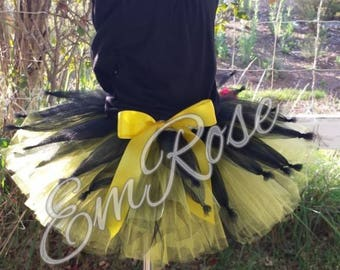 Yellow and Black Bumble Bee Tutu