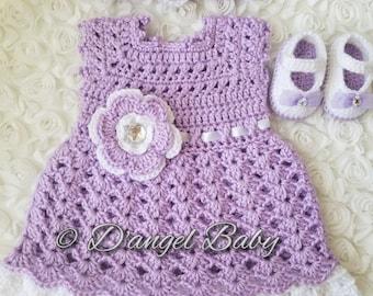 Purple baby set