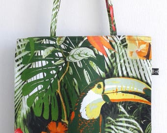 Tropical Tote Bag, grocery Tote