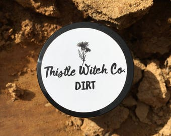 DIRT - Dry face mask | VEGAN | All skin types | Cruelty-Free | Locally Sourced | Fresh | Hand-Harvested | Kentucky Clay