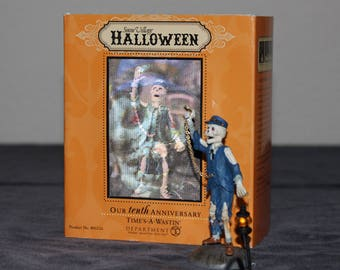 Department 56 - Snow Village - Halloween - Time's-A-Wastin'