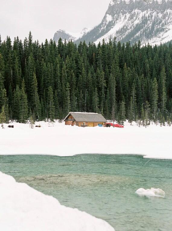 Lake Louise in White