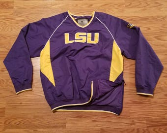 Colosseum LSU Tigers Vintage Jacket