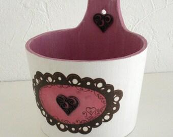 "Bucket Pot ""Rosewood"""
