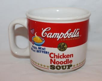 1997 Campbell's Chicken Noodle Soup Mug by Westwood