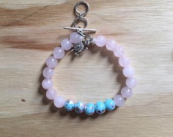 Pink Blush Bracelet