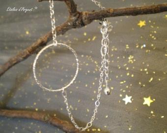 """Princess Ring"" chain bracelet"