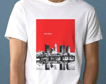 Columbus Ohio T-shirt  -  UOH028
