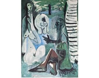 Pablo Picasso Dejeuners Lithograph 1 1962