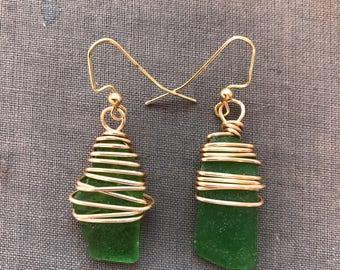 Goddess Green Top Wraps