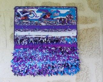 table art textile mix colors
