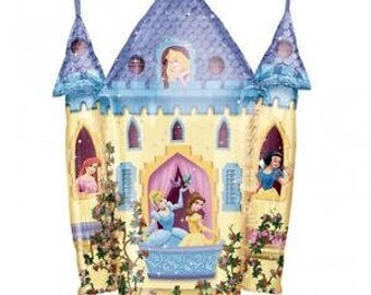 Disney Princess Castle Balloon Large