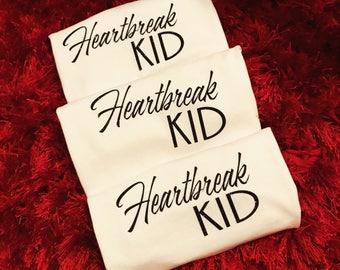 Valentines Heart Break Tshirt Toddler/ Baby/ Kids / Glitter Vinyl