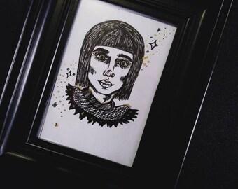 Mini portrait/ 2x3