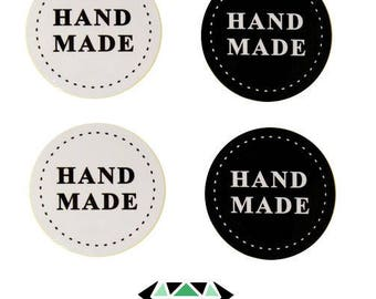 40 stickers pellets HAND MADE 3.5 cm x