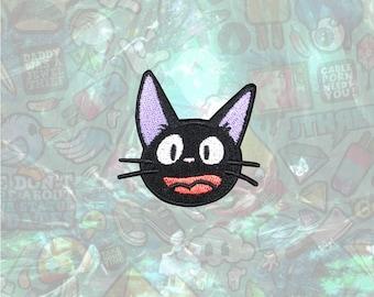 Kiki's Delivery Service Patch JIJI cat patch back patch hat patch bag patch sew on patch Iron on Patch