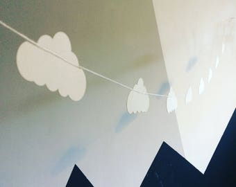 Paper Garland || Cloud