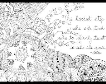 Atticus drawing