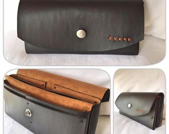 WALLET made from faux leather customizable