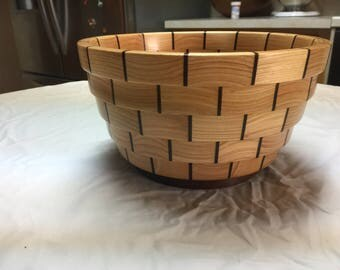 HAND MADE, CUSTOM wood bowl.