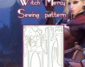 Witch Mercy - Sewing Pattern (different sizes - look description)