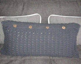 Square or rectangular Cushion cover handmade crochet