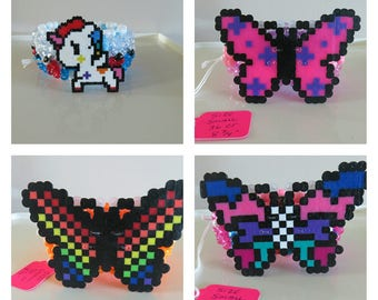 Rave Kandi Butterflies or Unicorns Cuff