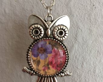 Beautiful necklace with owl Pendant