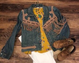 Vintage COWGIRLS Denim Jacket by Gordon & James