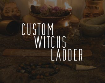 Custom Witch's Ladder, Pagan Prayer Beads