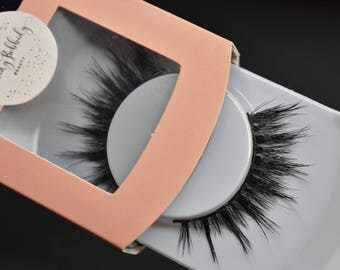 Handcrafted Mink lashes #355