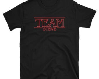 Team Steve - Steve Harrington, Mom of the Year, Joe Keery, The Babysitter, Stranger Things t-shirt