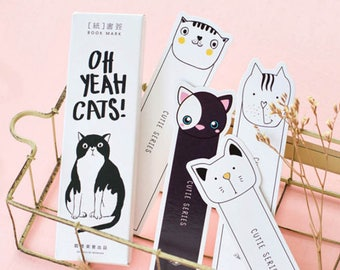30 pieces cats bookmark