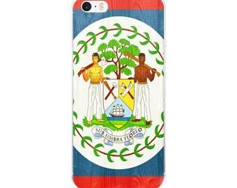 Belize design iPhone Case