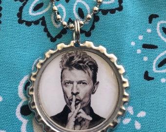 David Bowie Necklace Pendant