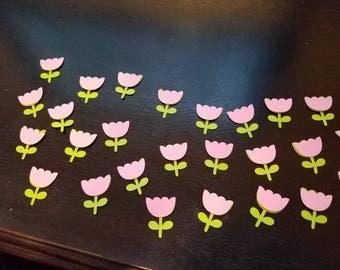 3-D Tulip Confetti