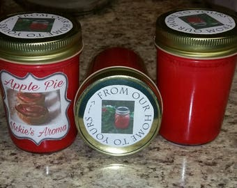 Apple Pie Soy Candle