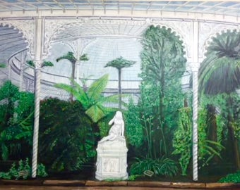 The Kibble Palace Postcard