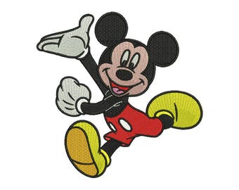 Mickey Embroidery Design #1 - 4 SIZES