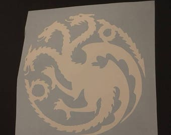 Targaryen Vinyl Decal