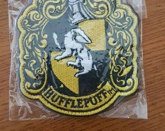 Harry Potter Patch - Hufflepuff harry potter Howgarts Slytherin Patch (Free Shipping)