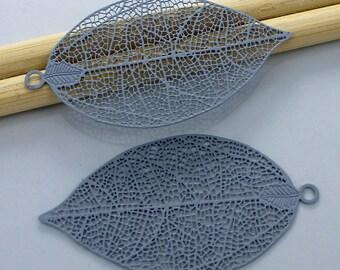 2 prints - journal - bluish grey color - Sun 26x50mm # L10