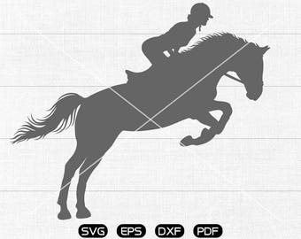 Equestrian SVG, Horse Clipart, cricut, silhouette cut files commercial use