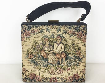 Mini Needlepoint Handbag
