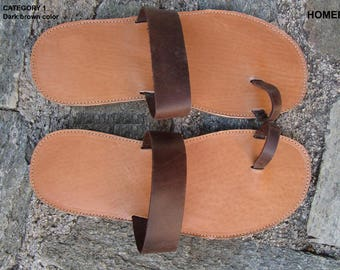 Mens Sandals, Handmade Sandals,Hermes Sandals, Leather Sandals, Greek Sandals,Men Leather Sandals,ARCHAIKO,Sandals For Men,HOMER