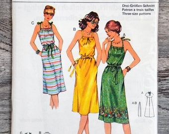 Burda 21741 sewing pattern - dress (Vintage)